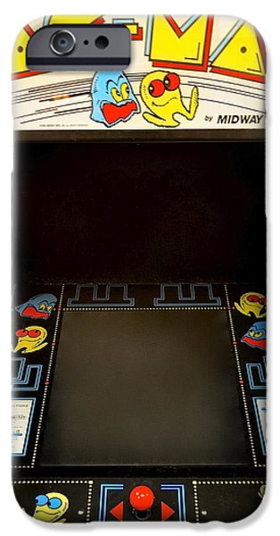 Arcade Madness iPhone Case by Frozen in Time Fine Art Photography