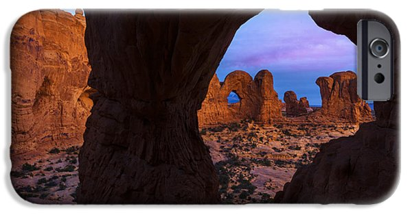 Southern Utah iPhone Cases - Arch Arch iPhone Case by Dustin  LeFevre