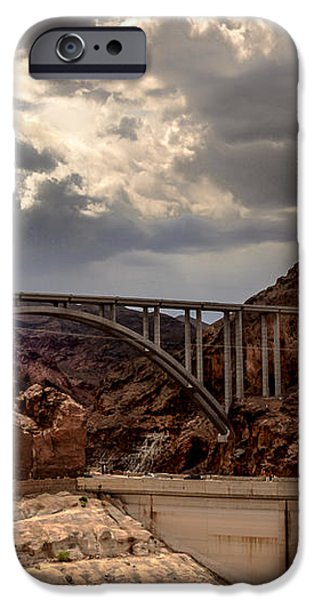 Arch Bridge and Hoover Dam iPhone Case by Robert Bales
