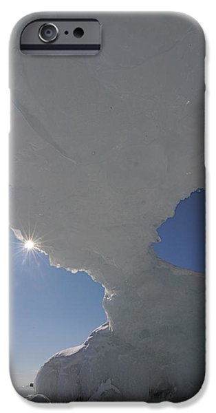 Arch of Ice iPhone Case by Sandra Updyke