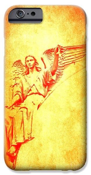 Archangel Michael  iPhone Case by Lali Kacharava