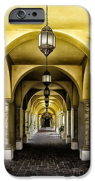 Arches and Lanterns iPhone Case by Thomas R Fletcher