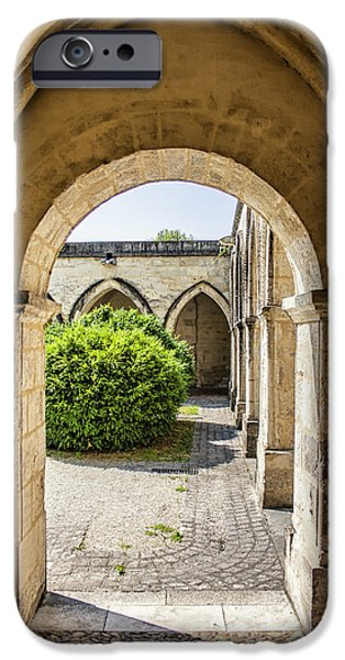 House iPhone Cases - Arches in Perigueux iPhone Case by Nomad Art And  Design