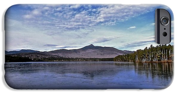 Mt Chocorua iPhone Cases - Archetype 2 iPhone Case by Elizabeth Tillar