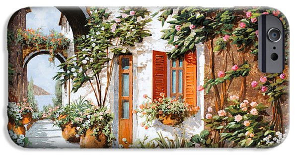 Arches iPhone Cases - Archi E Orci iPhone Case by Guido Borelli