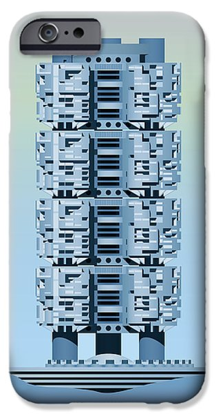 Brutalist iPhone Cases - Archisystems iPhone Case by Peter Cassidy