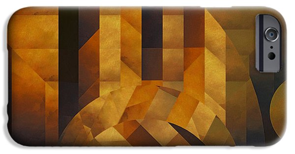 Otherworldly iPhone Cases - Architectonic Exclusion iPhone Case by LC Bailey