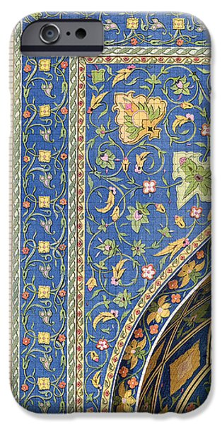 Architectural Details from the Mesdjid i Shah iPhone Case by Pascal Xavier Coste