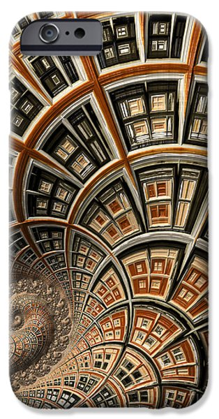 Virtual iPhone Cases - Architectural Fantasy iPhone Case by Heidi Smith