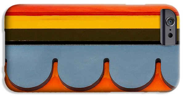 Santa Cruz Art iPhone Cases - Architectural Molding iPhone Case by Art Block Collections