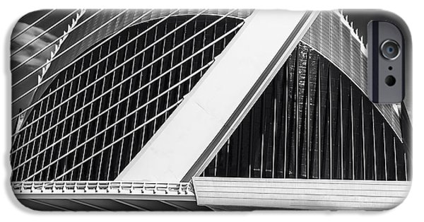 Technology iPhone Cases - Architecture Valencia Vl iPhone Case by Erik Brede