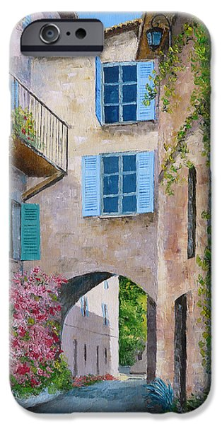 Balcony iPhone Cases - Archway iPhone Case by Jean-Marc Janiaczyk
