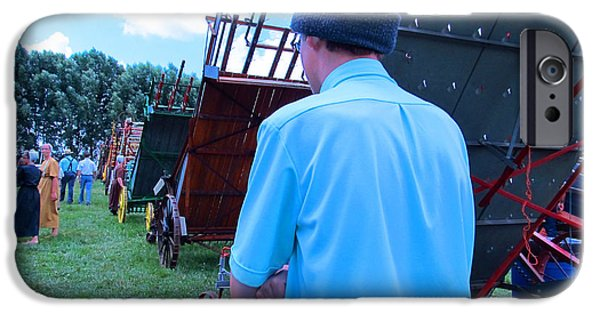 Amish Community iPhone Cases - Are You Coming This Way iPhone Case by Tina M Wenger
