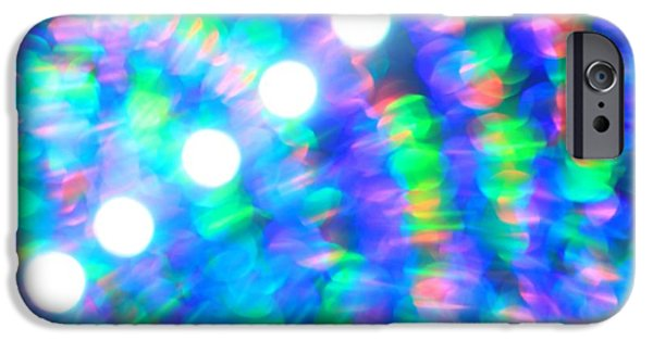 Abstract Digital Photographs iPhone Cases - Are You Experienced  iPhone Case by Dazzle Zazz