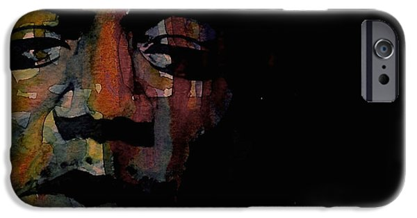 Lips Mixed Media iPhone Cases - Are You Experienced iPhone Case by Paul Lovering