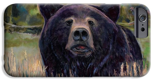 Close Pastels iPhone Cases - Are you Gonna Finish that Sammich? iPhone Case by Billie Colson