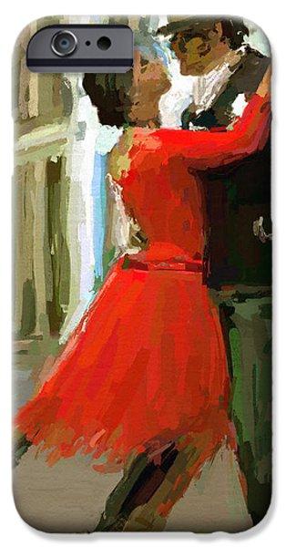 Argentina Tango iPhone Case by James Shepherd