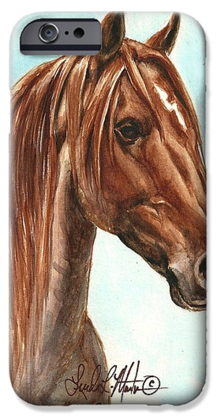 Aries  iPhone Case by Linda L Martin