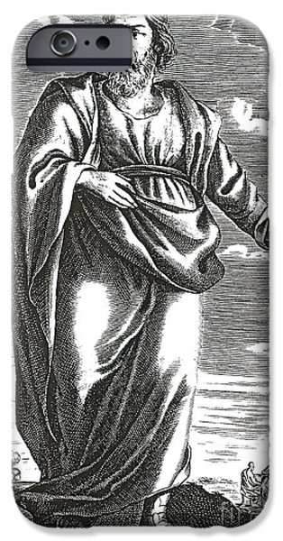 Greek School Of Art iPhone Cases - Aristippus Of Cyrene, Ancient Greek iPhone Case by Science Source