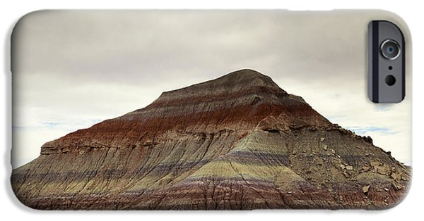 Petrified Forest Arizona iPhone Cases - Arizona Geology iPhone Case by Phill  Doherty