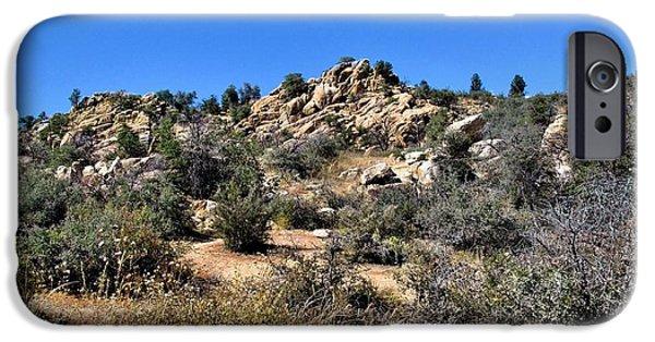 Prescott iPhone Cases - Arizona High Desert iPhone Case by John Trommer
