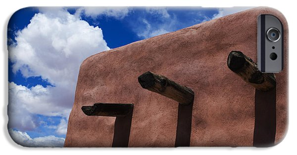 Petrified Forest Arizona iPhone Cases - Arizona Land Of Contrasts iPhone Case by Bob Christopher