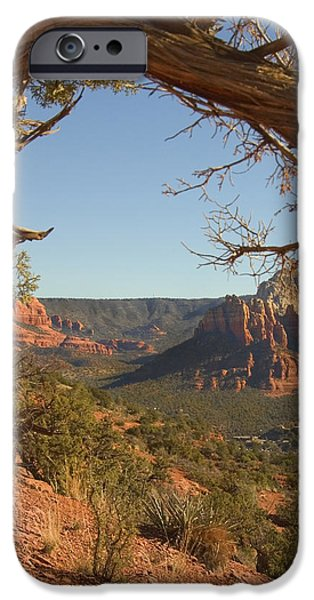 Sedona iPhone Cases - Arizona Outback 5 iPhone Case by Mike McGlothlen