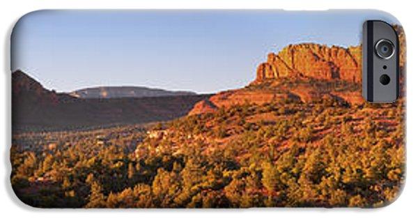 Sedona iPhone Cases - Arizona Red Rocks iPhone Case by Alexey Stiop