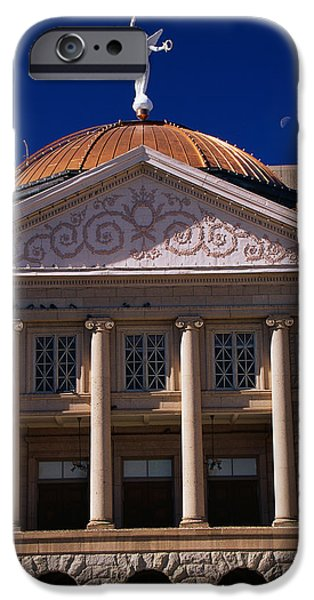 Historic Site iPhone Cases - Arizona State Capitol Building Phoenix iPhone Case by Panoramic Images