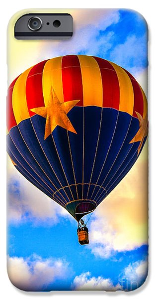 Arizonia iPhone Cases - Arizonia Hot Air Balloon Special iPhone Case by Robert Bales