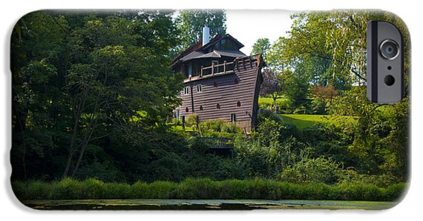 Ark iPhone Cases - Ark House - Berks County Pa. iPhone Case by Bill Cannon
