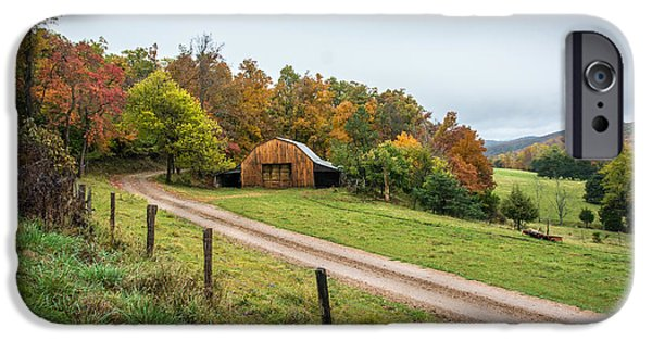 Arkansas iPhone Cases - Arkansas Barn iPhone Case by Larry Pacey