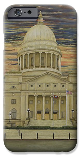 Arkansas State Capitol iPhone Case by Mary Ann King