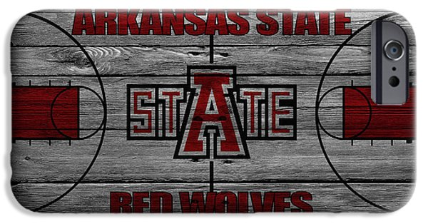 Arkansas Photographs iPhone Cases - Arkansas State Red Wolves iPhone Case by Joe Hamilton