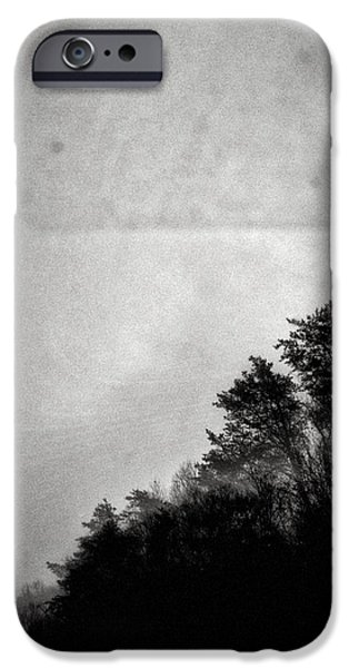 Arkansas Drawings iPhone Cases - Arkansas trees iPhone Case by H James Hoff