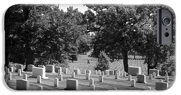 Recently Sold -  - Headstones iPhone Cases - Arlington iPhone Case by Breanna Mead