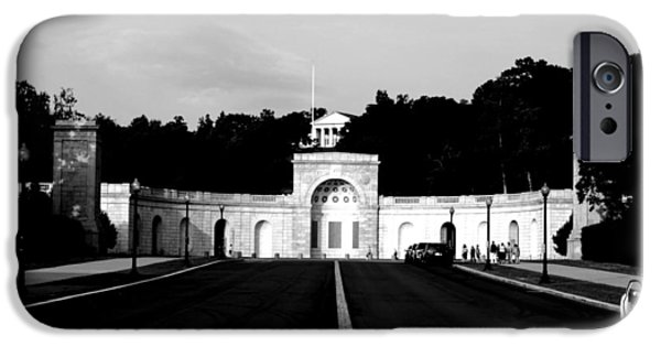 Cemetary iPhone Cases - Arlington Cemetary1 iPhone Case by Jason ODell