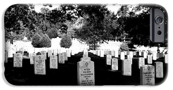 Cemetary iPhone Cases - Arlington Cemetary4 iPhone Case by Jason ODell