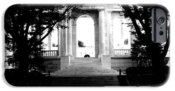Cemetary iPhone Cases - Arlington Cemetary5 iPhone Case by Jason ODell