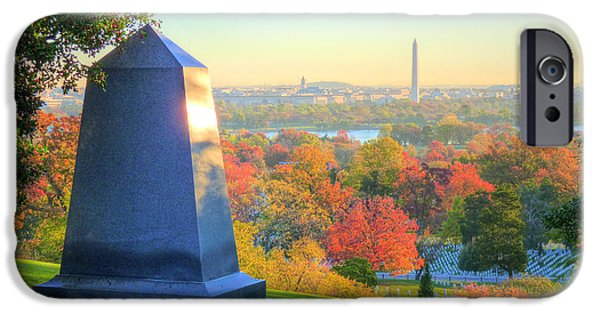 Arlington iPhone Cases - Arlington  iPhone Case by JC Findley