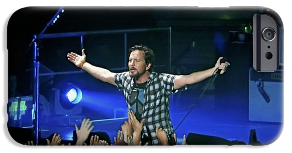 Pearl Jam iPhone Cases - Arms Wide Open iPhone Case by David Powell