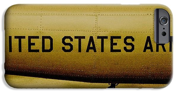 Grunts iPhone Cases - Army Chopper iPhone Case by Benjamin Yeager