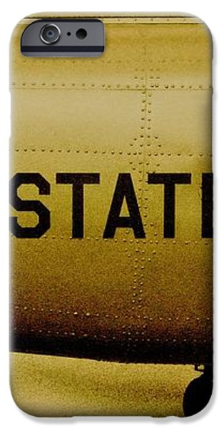 Army Chopper iPhone Case by Benjamin Yeager