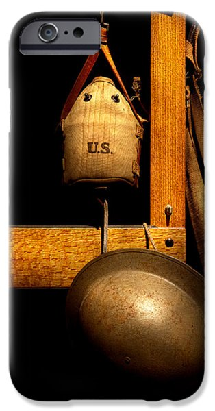 Army - Life in the military iPhone Case by Mike Savad
