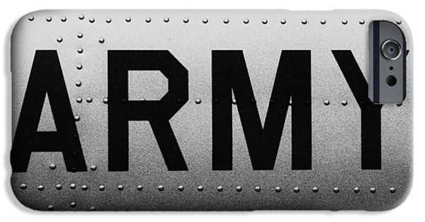 Grunts iPhone Cases - Army Strong iPhone Case by Benjamin Yeager