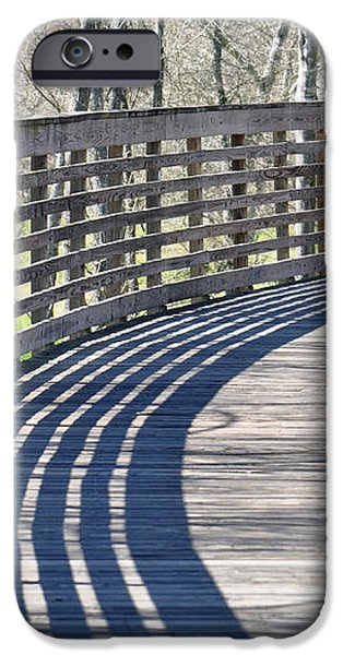 Around the Bend iPhone Case by Teresa Blanton