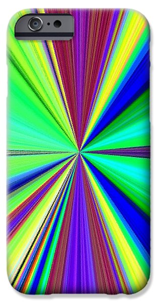 Arrest iPhone Cases - Arresting Abstract iPhone Case by Will Borden