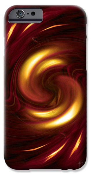 Arrogance - abstract art by Giada Rossi iPhone Case by Giada Rossi