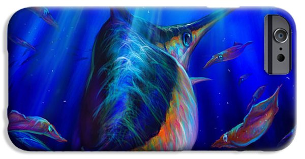 Redfish iPhone Cases - Arrows Vs One Sword   iPhone Case by Yusniel Santos
