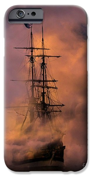 Pirate Ship iPhone Cases - Arrr iPhone Case by Stephanie Laird